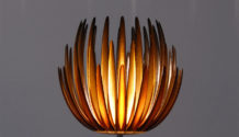 MGX Lotus lamp Materialise 3d printing stereolitography
