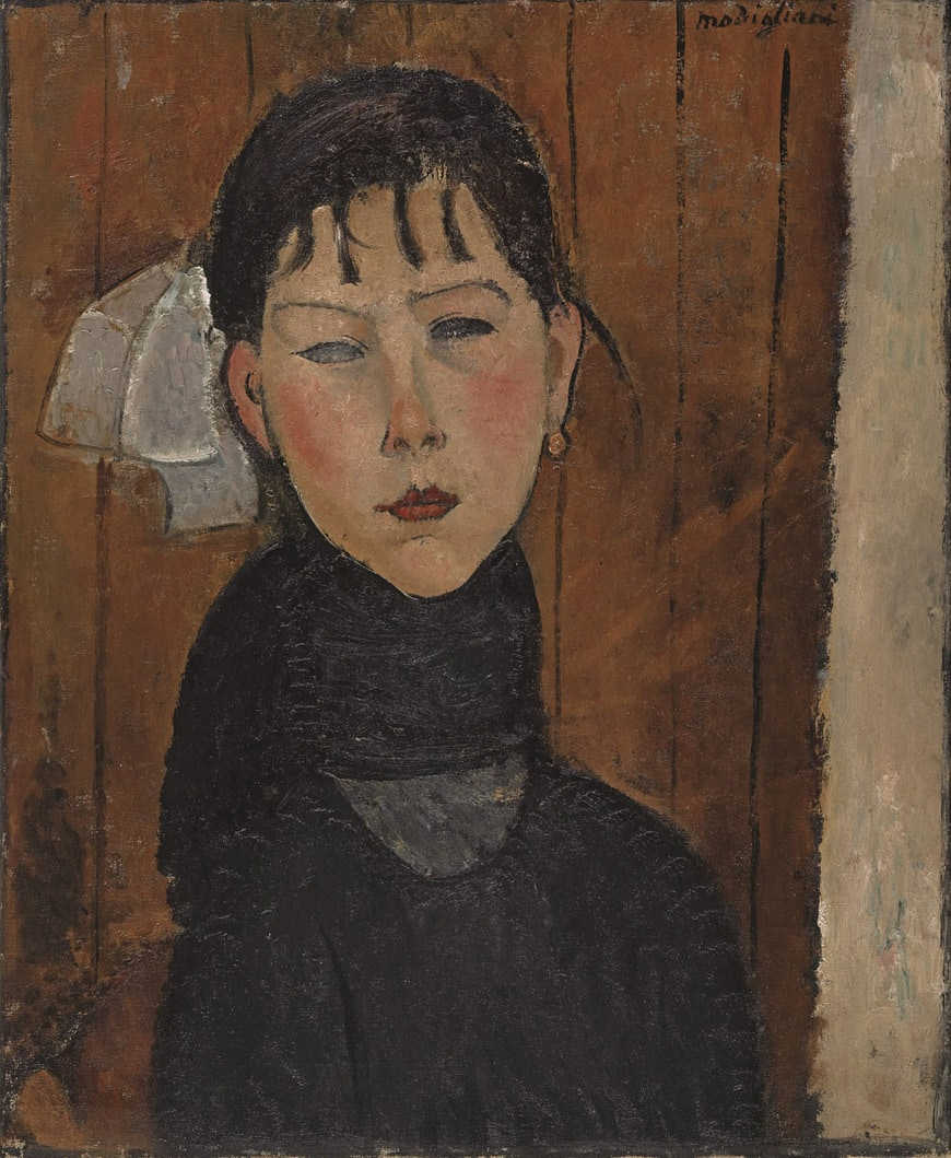 Modigliani-tate-modern-ID102-Marie-1919