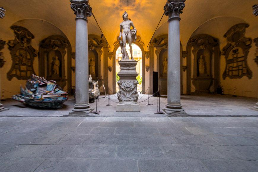 Palazzo Medici Riccardi palace Frorence Inexhibit 4l