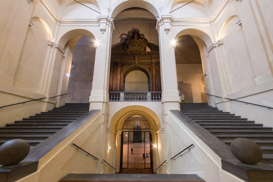 Palazzo della Pilotta Galleria Nazionale di Parma Italy Inexhibit 2
