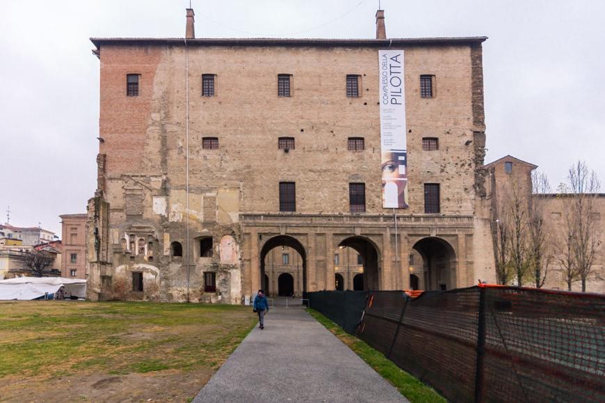 Palazzo della Pilotta Parma Italy Inexhibit 1