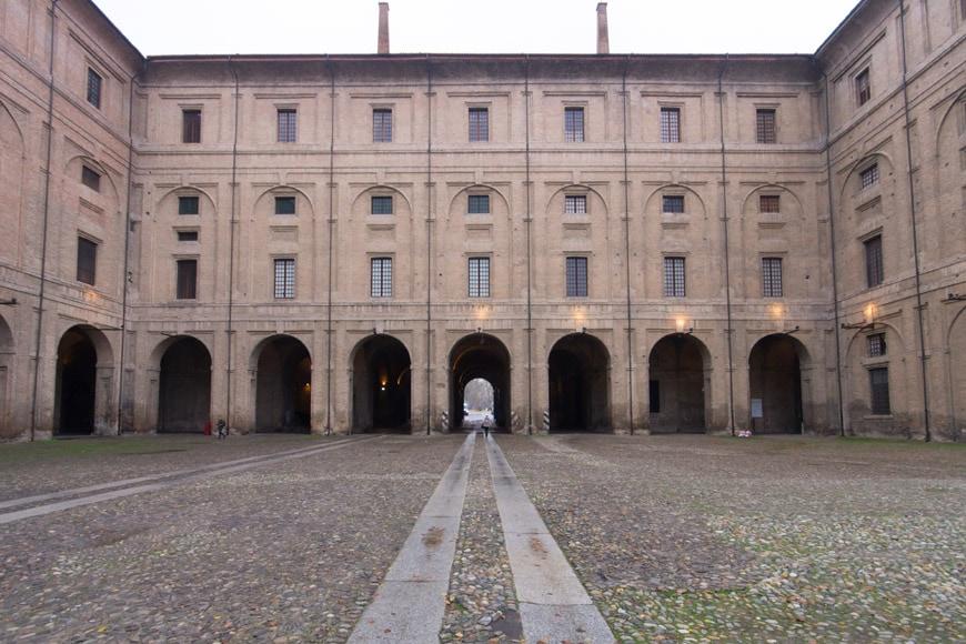 Palazzo della Pilotta Parma Italy Inexhibit 2