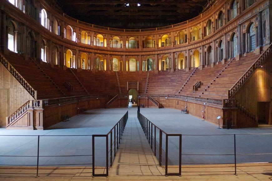 Palazzo della Pilotta Teatro Farnese Parma