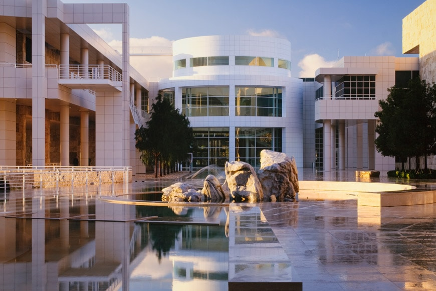 Richard Meier Getty Center Los Angeles