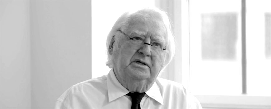 Richard Meier portrait banner