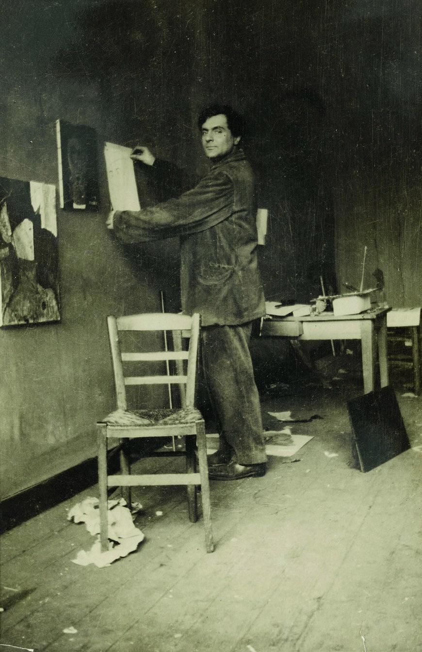Tate-Modern-Amedeo-Modigliani-in-his-studio