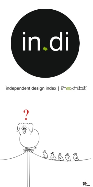 in.di independend design index, info and how to subscribe