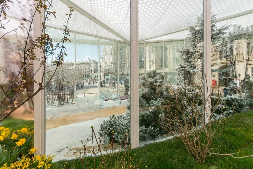 Carlo Ratti Living Nature pavilion Milan Design Week 2018 5L Inexhibit