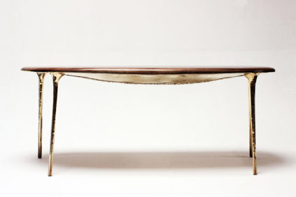 Galerie Gosserez Paris Valentin Loellmann table Brass 1