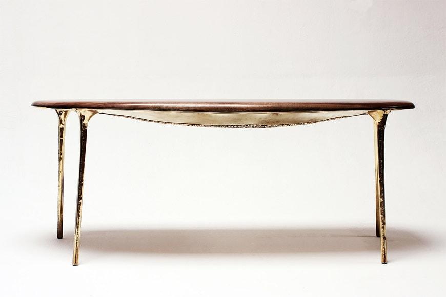 Galerie Gosserez Paris Valentin Loellmann tavolo Brass 1