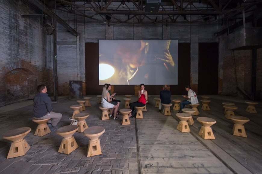 Italy pavilion 2018 Venice Architecture Biennale 02 Inexhibit
