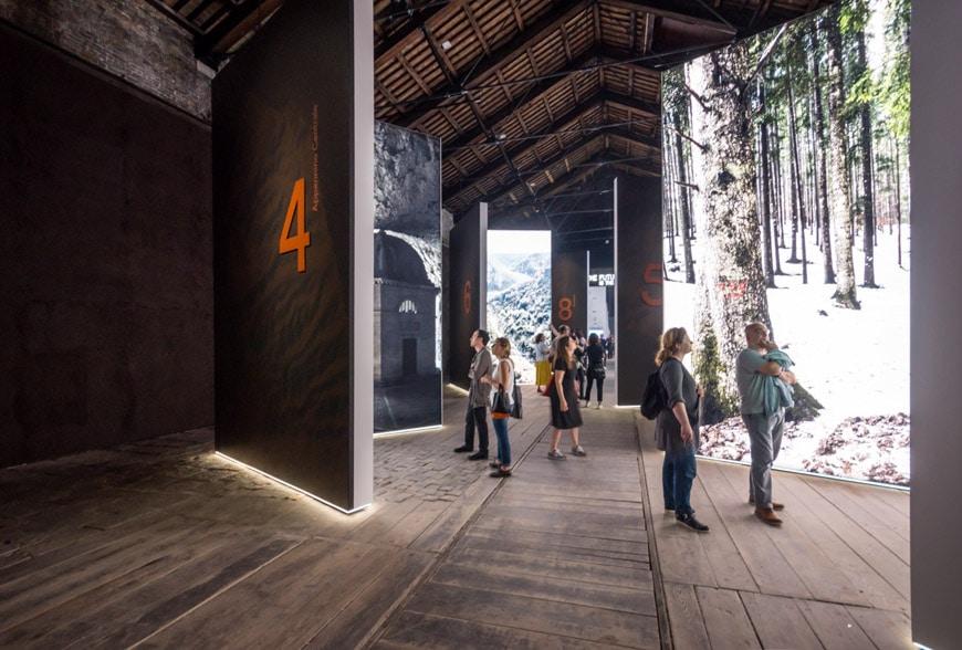 Italy pavilion 2018 Venice Architecture Biennale 05 Inexhibit