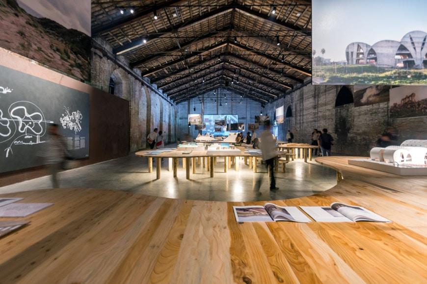 Italy pavilion 2018 Venice Architecture Biennale 10 Inexhibit