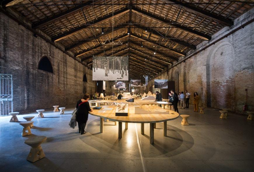 Italy pavilion 2018 Venice Architecture Biennale 11 Inexhibit