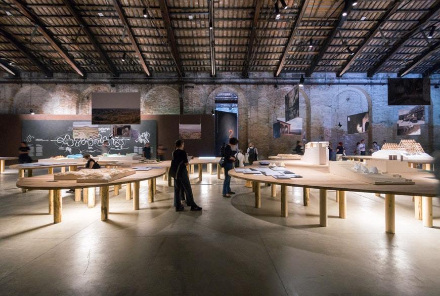 Italy pavilion 2018 Venice Architecture Biennale 14 Inexhibit