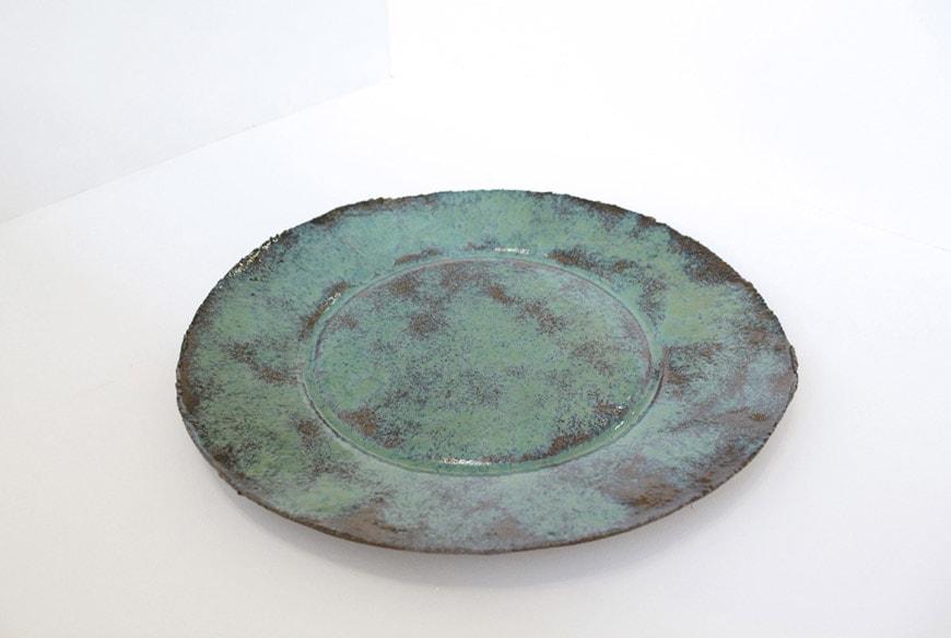 Raw Collars stoneware plate Daniel van Dijck 1