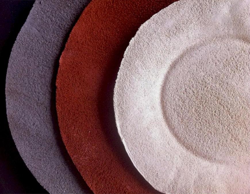 Raw Collars stoneware plate Daniel van Dijck 2