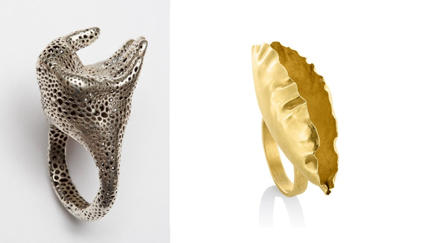 artistar-jewels-milano-guerini-Voronoi-and-Mondelaers-golden-leaf