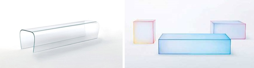glas-italia-casa-italia-corea-bent-glas-bench-and-nendo-bench