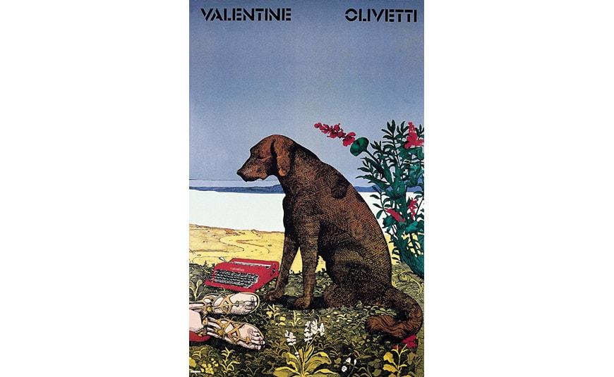 olivetti-manifesto-lettera-32-W-Ballmer-mostra-roma-galleria-nazionale-2018