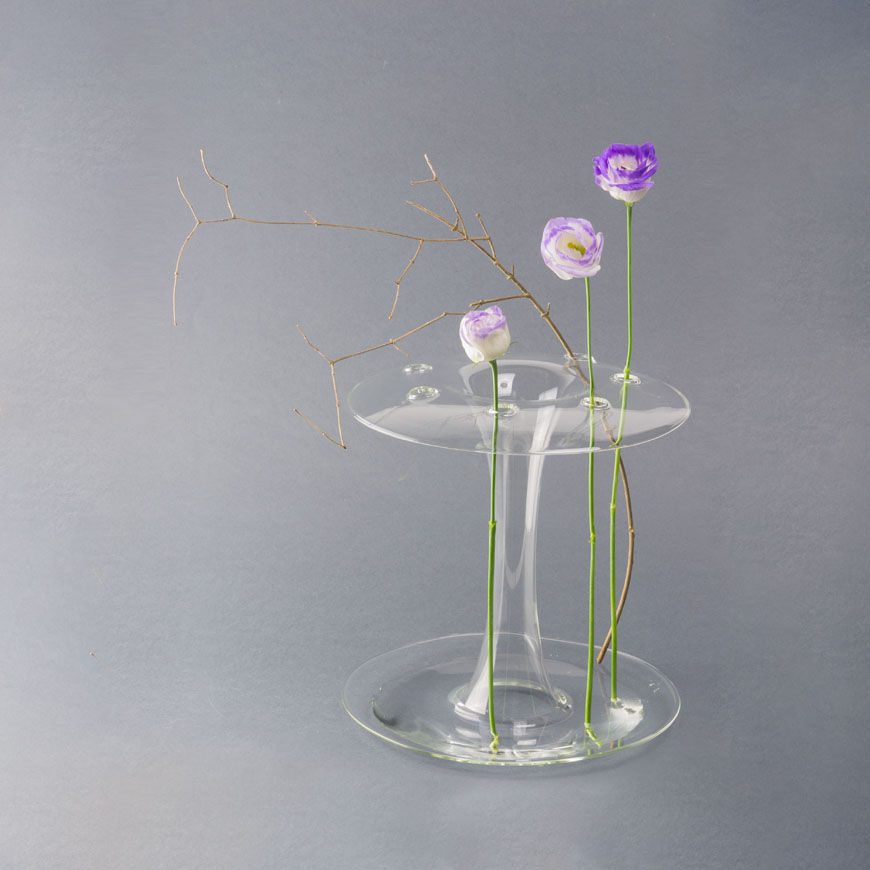 AQUA glass vase KANZ architetti 2