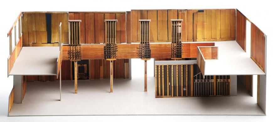 Charles Rennie Mackintosh Oak Room for the Ingram Street tearooms in Glasgow V&A Dundee