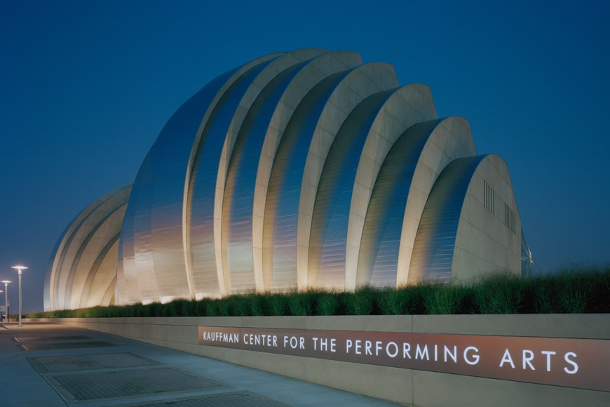 Moshe Safdie Kauffman Center for Performing Arts Kansas City