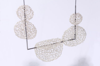 Pendant silver Eriko Unno in.di Independent Design Index 2