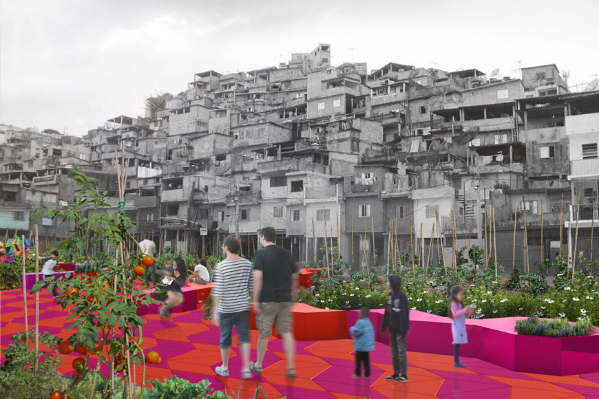 Piuarch-Espaco-proposal-favela-San-Paolo