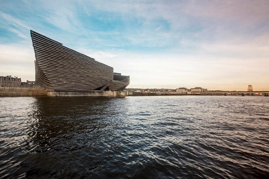 V&A Dundee museum Scotland Kengo Kuma 01