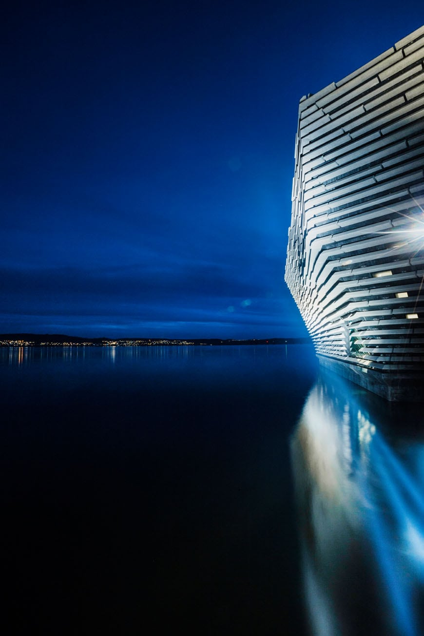 V a dundee museo del design kengo kuma for V a dundee living room