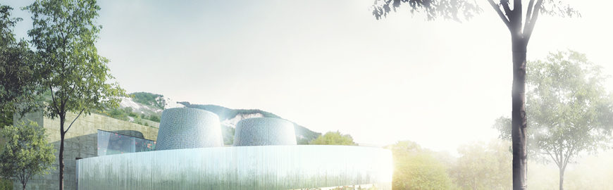 Dallara complex for exhibitions and education by Atelier(s) Alfonso Femia