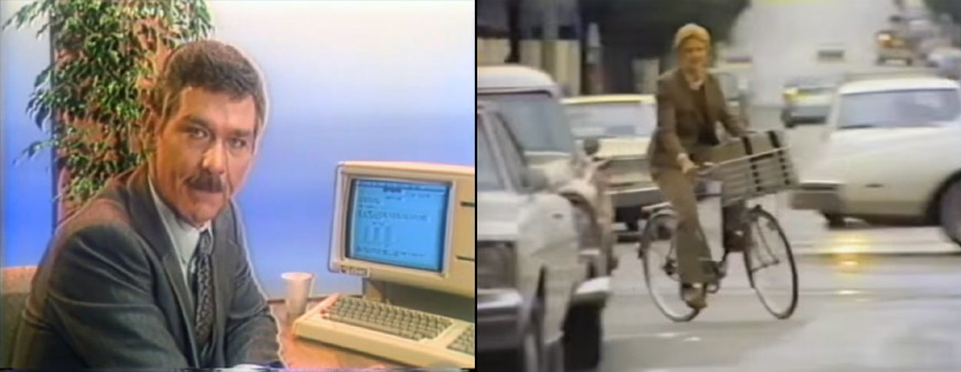 Apple Lisa and Apple Macintosh commercials
