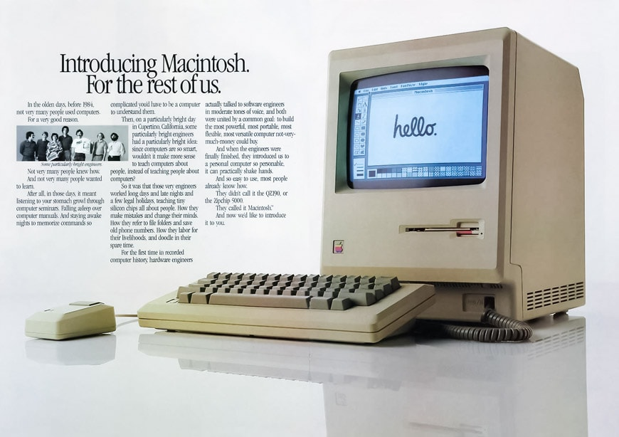 Apple Macintosh 1984 advert