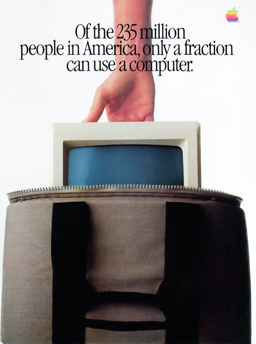 Apple Macintosh advertisement