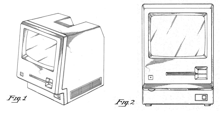 Apple Macintosh patent