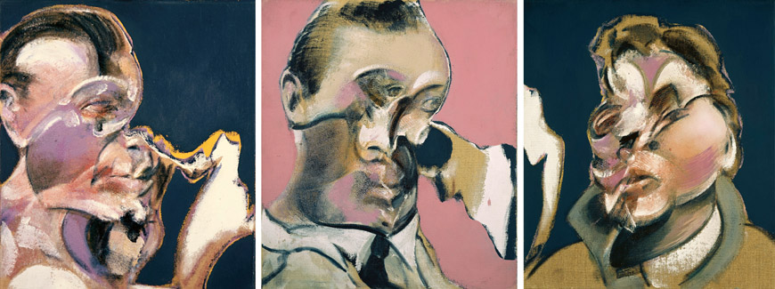 Bacon-Three-Studies-fo-Portraits-Bacon-Giacometti-Beyeler