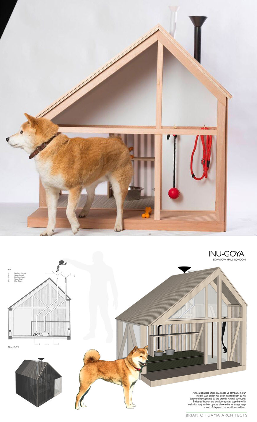 London Acclaimed Designers And Artists Create Dog Kennels For Charity