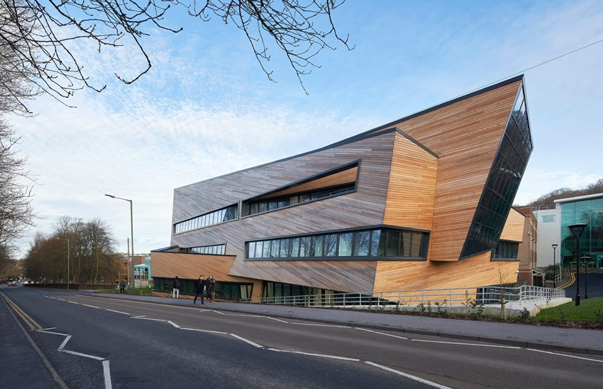 Daniel Libeskind Ogden Center Durham University