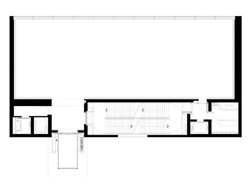 Fondazione Prada Milan Torre Rem Koolhaas OMA fourth floor plan