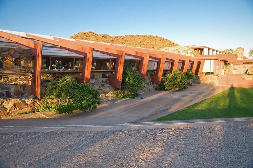 Frank Lloyd Wright Taliesin West Scottsdale Arizona Drafting Studio 1