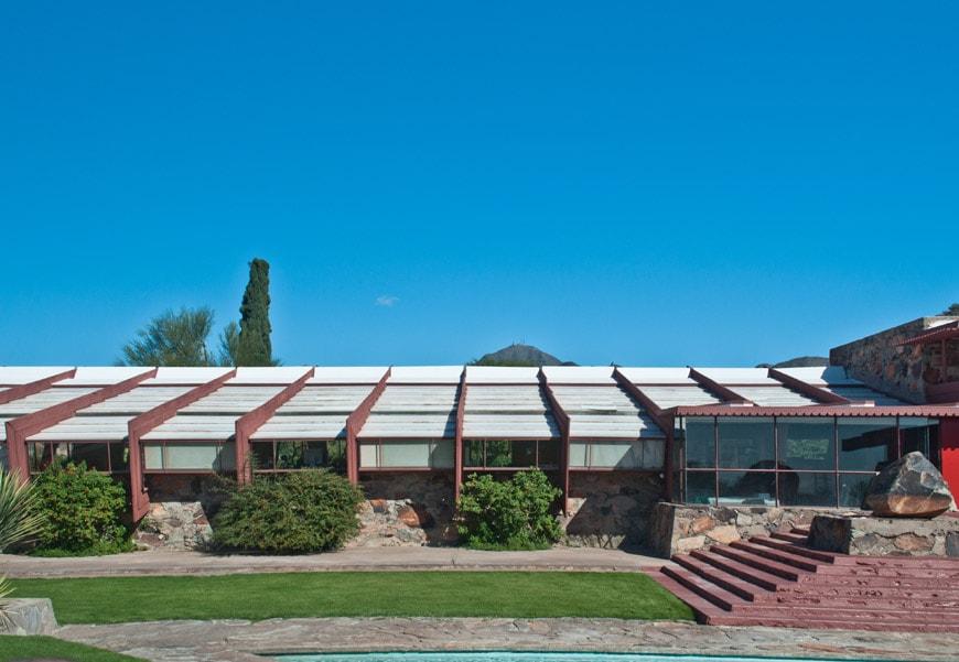 Frank Lloyd Wright Taliesin West Scottsdale Arizona Drafting Studio 3