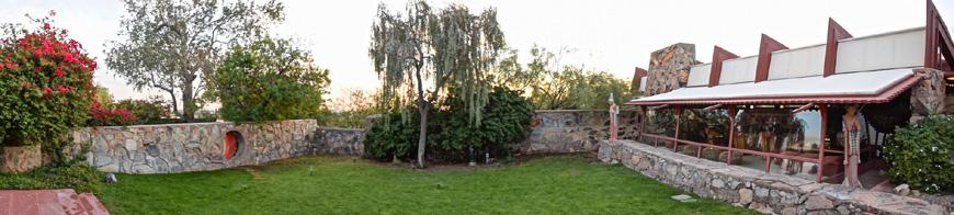 Frank Lloyd Wright Taliesin West Scottsdale Arizona Garden Room