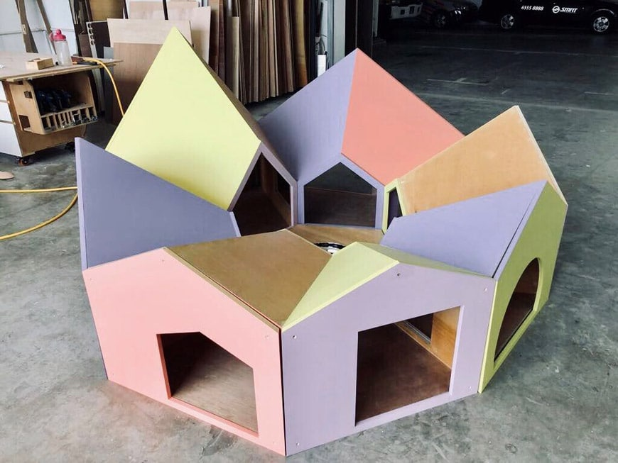 SPARK Architects Reservoir Dogs kennel design