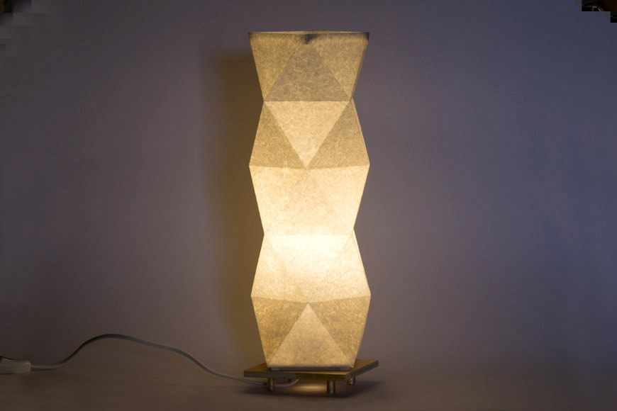 Terrestre re-lamps table sculpture 4 low