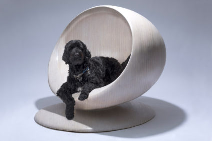Zaha Hadid Design Cloud dog kennel