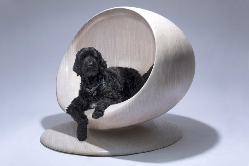 Zaha Hadid Design Cloud dog kennel
