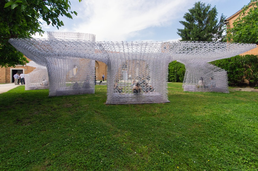 3D printed pavilion Archi-Union Architects China exhibition 2018 Venice Architecture Biennale 08 Inexhibit