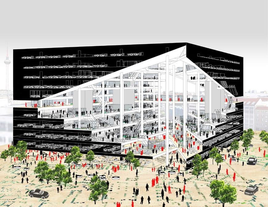 Axel-Springer Campus Berlin OMA German Pavilion 2018 Venice Biennale Architecture 2