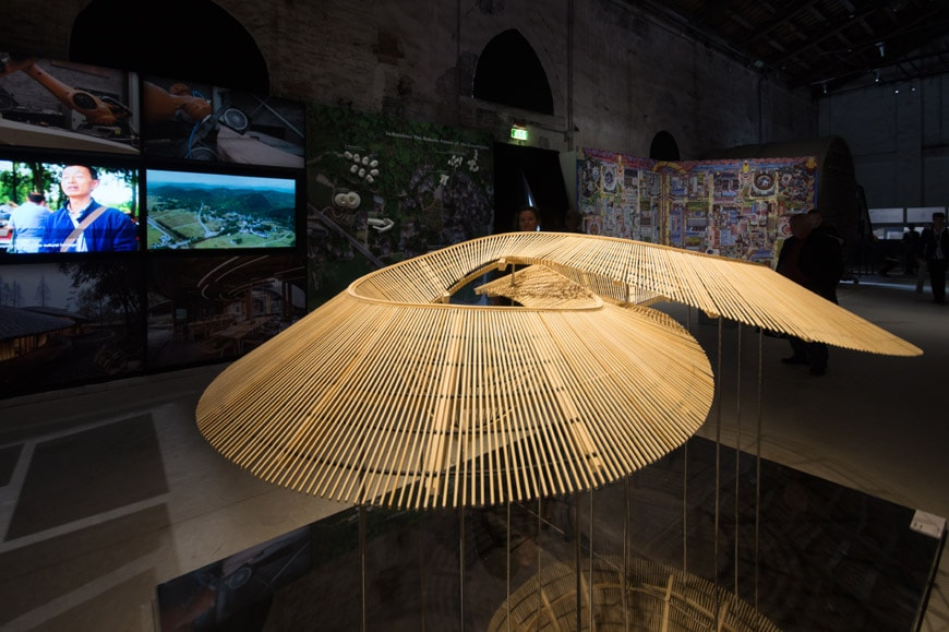 China Pavilion exhibition 2018 Venice Architecture Biennale Archi-Union Architects In Bamboo 1 Inexhibit